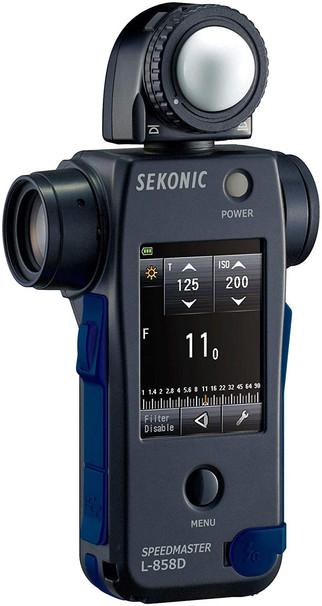 Sekonic | Esposimetro luce incidente e riflessa L-858D SPEEDMASTER