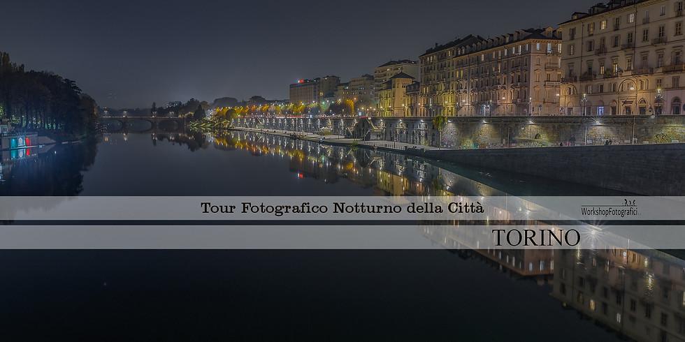 Torino - Tour Fotografico Notturno della città fino all'alba