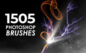1505 Photoshop Brushes Bundle