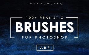 100+ Realistic Photoshop Brushes