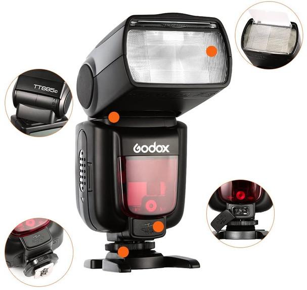 Godox | Flash a slitta TT685C