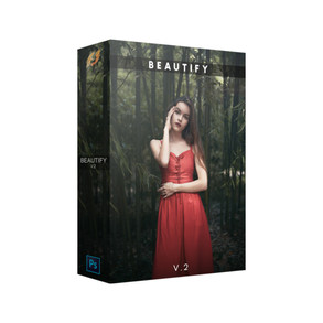 Beautify v2 Panel Pro   Photoshop Extensions