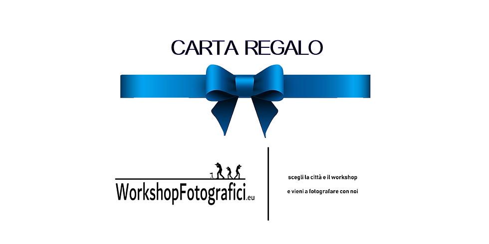 Carta Regalo WorkshopFotografici.eu
