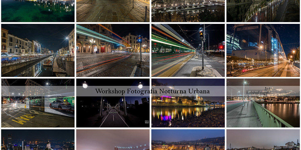 Brescia - Fotografia notturna urbana