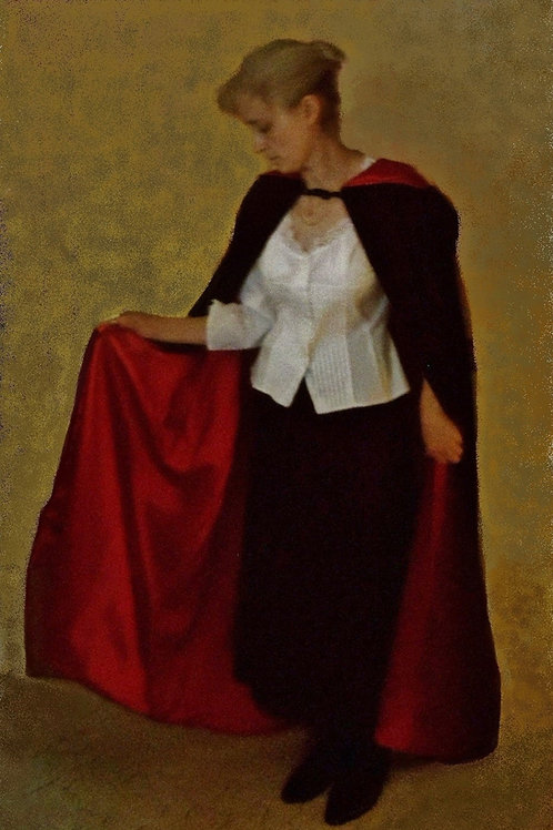 Black Cape with Red Lining, Ladies