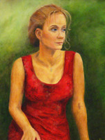 Woman in Red