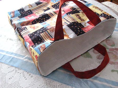Dog Print Gift Bag / Tote Bag