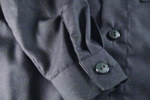 Black Long Sleeve Dress Shirt for Little Boys