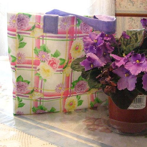 Floral Fabric Gift Bag / Tote Bag