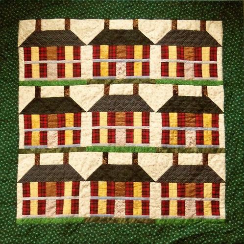 Madison House Quilt, Handmade