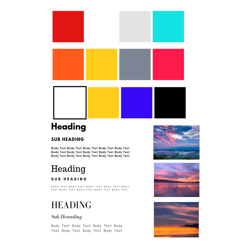 "Creating a personal brand: A 4 part series ""Mood Boards and Logos"""