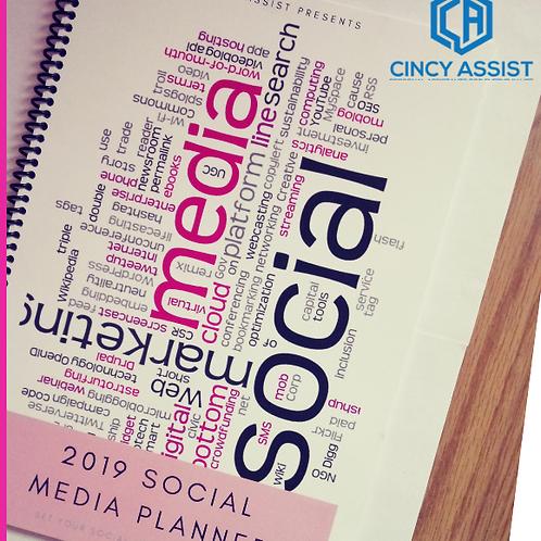 2019 Social Media Planner