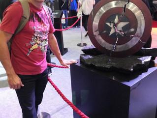 Estive na Comicon Experience.
