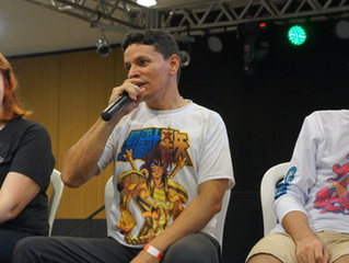 Professor Valdo Alves em Debate no Anime Festival...