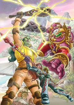 Capa Jungle Comics