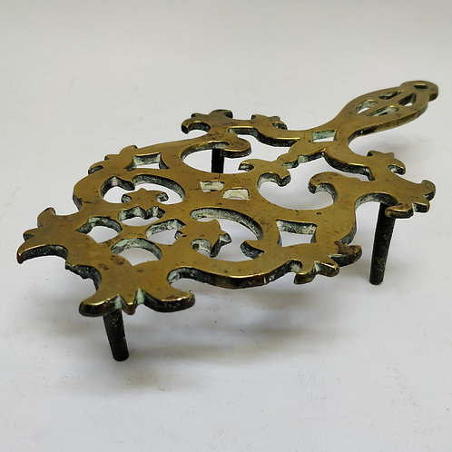 19th Century Brass Trivet