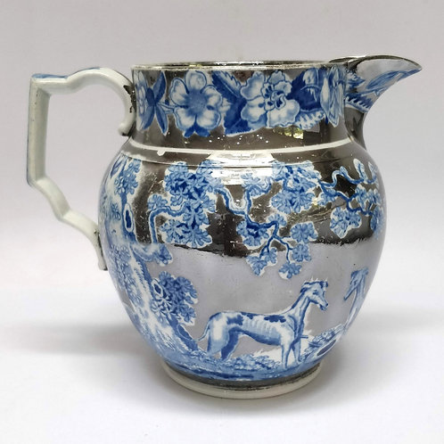 Early 19th Century Silver Lustre Jug