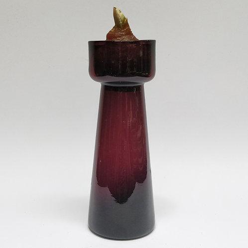 Amethyst Bulb Vase