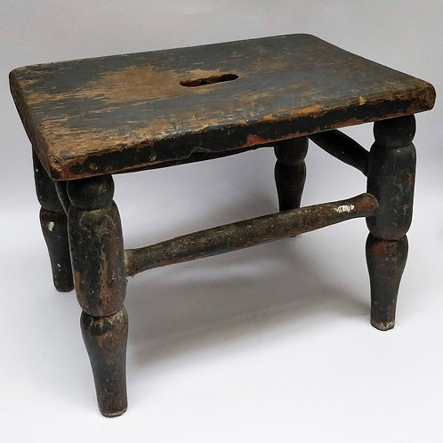 Pretty Painted Stool