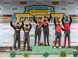 Second Place Finish for the Stevenson Motorsports Camaro GT4.R at VIRginia International Raceway