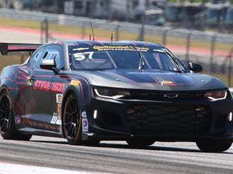 Strong Debut for Stevenson Motorsports Chevrolet Camaro GT4.R