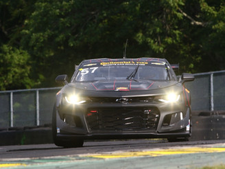 Stevenson Motorsports on Front Row for Biscuitville Grand Prix at VIR