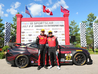 Stevenson Motorsports Delivers First Win for Camaro GT4.R