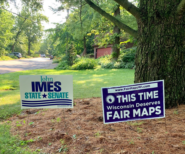 Fair Maps sign with Imes sign.jpg