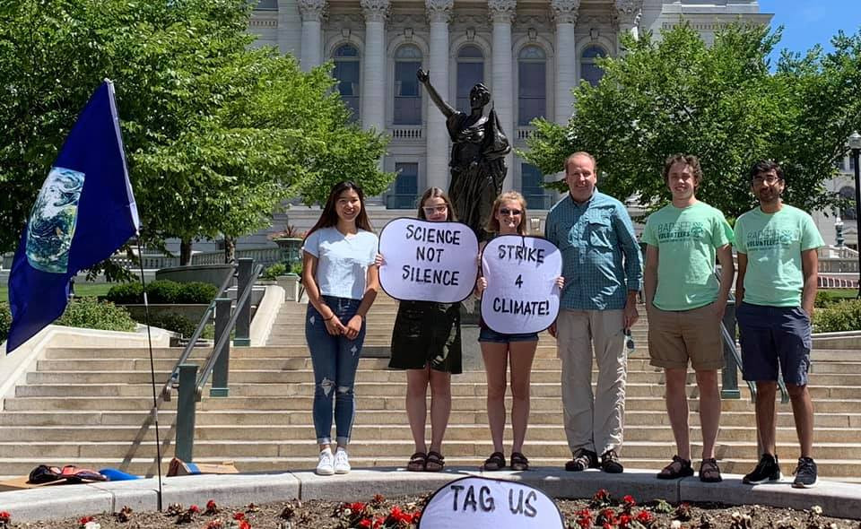 With BVs and Climate Activists at the Ca