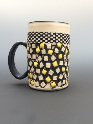 Hand built Porcelain Mug