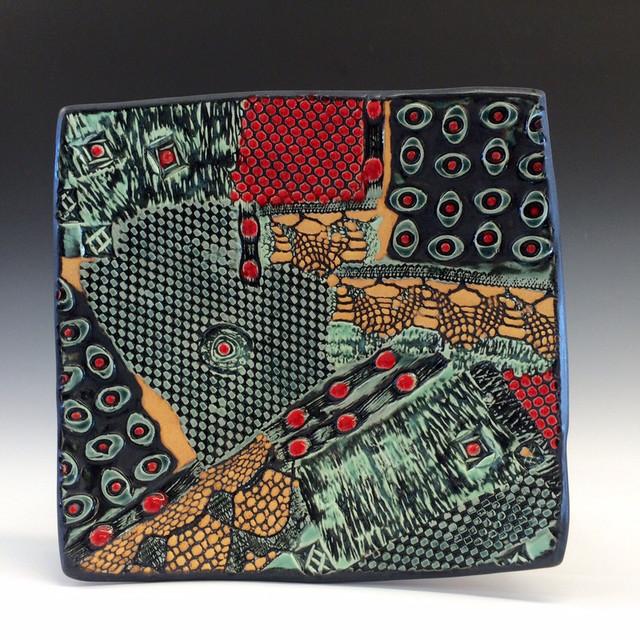 Textured Square piece
