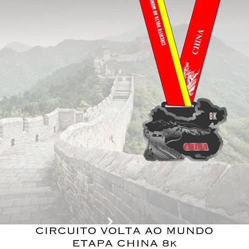 CORRIDA CHINA 8k  -  2020  -  Apenas Medalhas