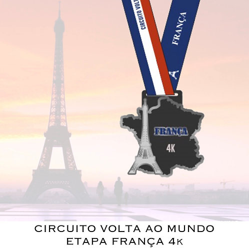 CORRIDA FRANÇA 4k  -  2020  -  Apenas Medalhas