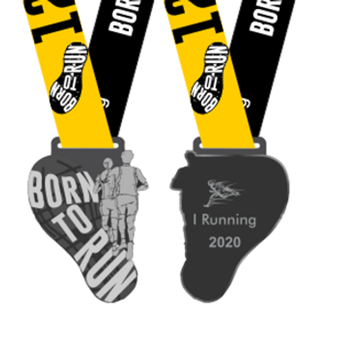 CORRIDA BORN TO RUN 12K  -  Apenas Medalhas