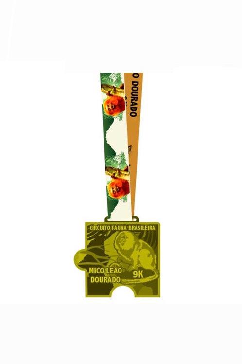 CORRIDA MICO LEÃO DOURADO 9K - 2020  -  Apenas Medalhas