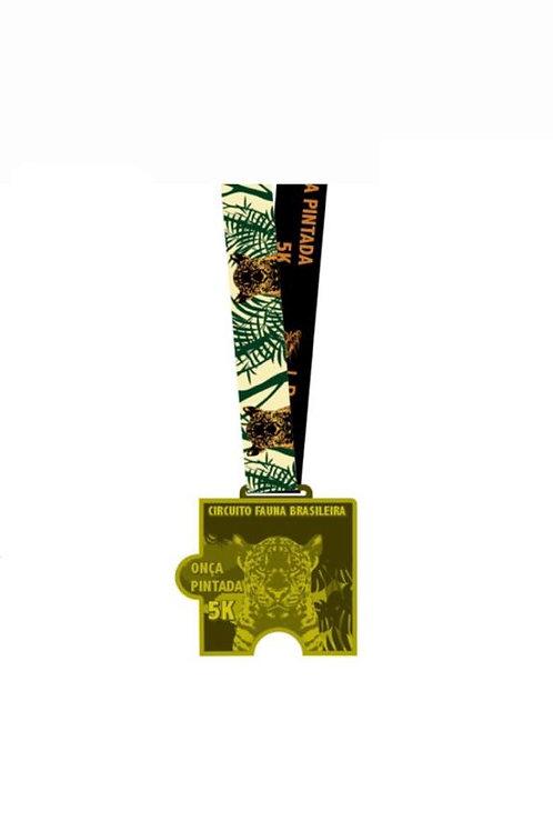 CORRIDA ONÇA PINTADA 5K - 2020  -  Apenas Medalhas