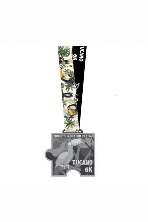 CORRIDA TUCANO 6K - 2020  -  Apenas Medalhas