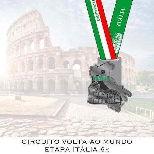 CORRIDA ITÁLIA 6k  -  2020  -  Apenas Medalhas