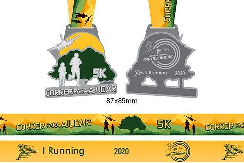 CORRER PARA AJUDAR 5k (23/10/2020 a 08/11/2020) - Apenas Medalha