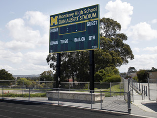 Monterey High School Scoreboard