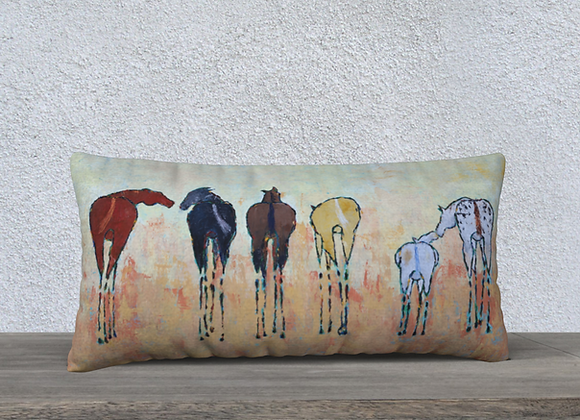 THE CHESTNUT MARE COTTON + LINEN PILLOW CASE