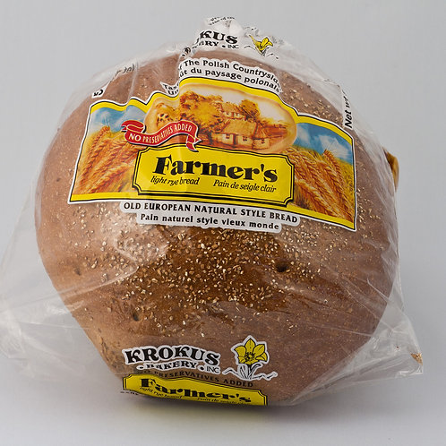 Farmers Light Rye Bread