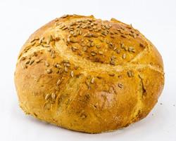 Sunflower Seed Round Rye Bread