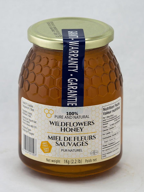 Wildflowers Honey 100% Pure and Natural