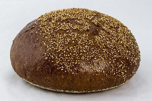 Pumpernickel Round Rye Bread, Large