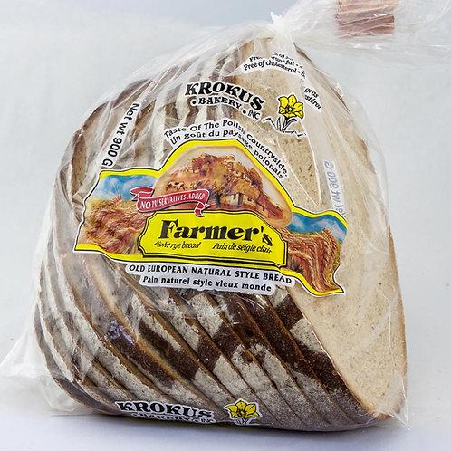 Farmers Rye Bread Loaf 2 lbs