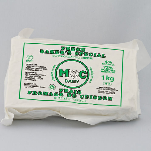Fresh Baker's Special Cheese 4% 1 kg