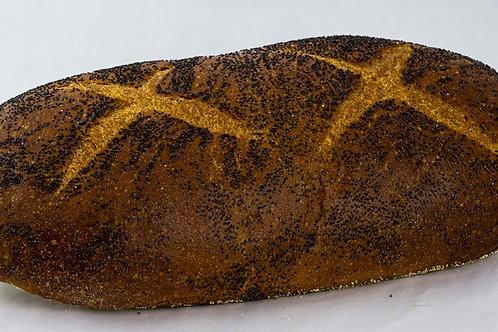 Poppy seed Rye Bread 1 lb