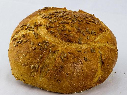 Sunflower Rye Bread 1 lb Round
