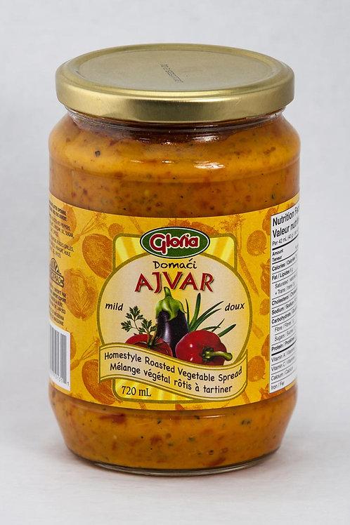 Mild Ajvar Homestyle Roasted Vegetable Spread, 720 ml